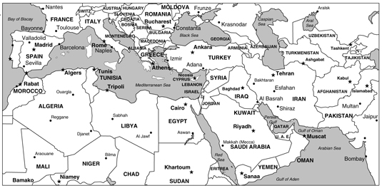 middle east map 157964.image0